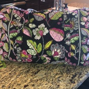 Large Vera bradley travel duffel